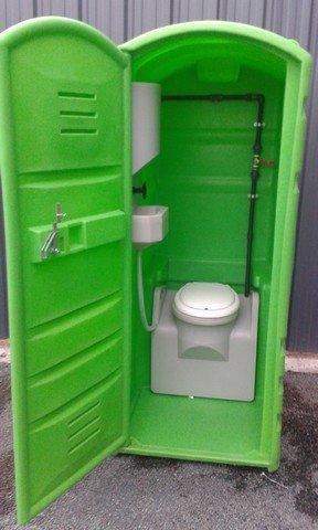 WC de chantier raccordable