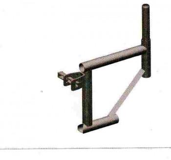 Console de déport 400mm DUO 45