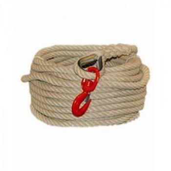 corde à poulie