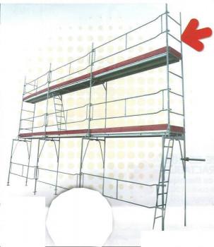 Echafaudage 65 m2 ECO 42