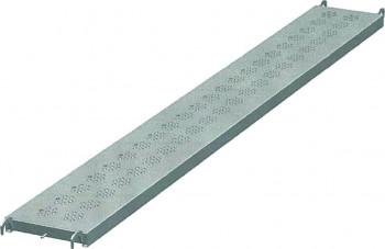 Plancher d'échafaudage 0.36 x 3.00 acier galva