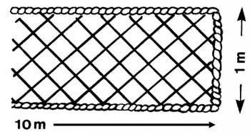 Filet périphérique 10m x 1.00m