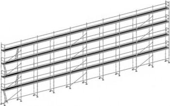 ECHAFAUDAGE DUO 45 310M² lisses